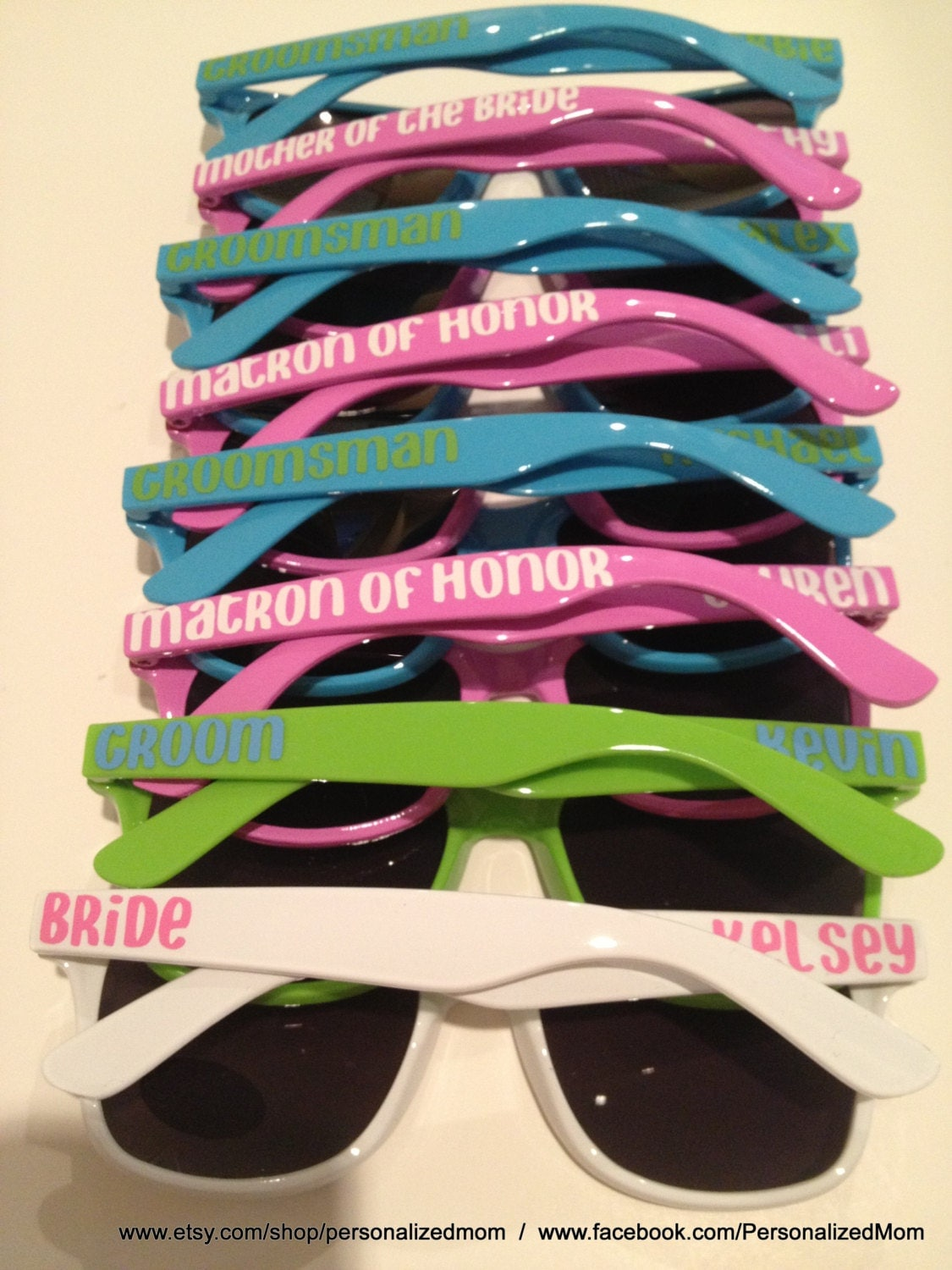 bachelorette party sunglasses bridal party gift groomsman On wedding party sunglasses