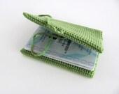 Passport Cover--- men& women----GREEN----100 % Cotton----Style-Christmas gift