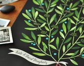 Custom order for Anne-Marie - LAUREL Family Tree, 4 generations - PERSONALIZED - 13 X 19