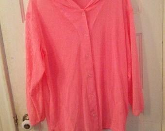 bright neon pink mesh hoodie jacket 1980s 80s eighties dayglo skater surfer boho grunge
