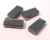 Lot of 12 Resin Wafer Biscut Cabochon...Chocolate...Button...N105