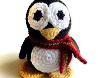 Patrick the Penguin - PDF Crochet Pattern - Instant Download
