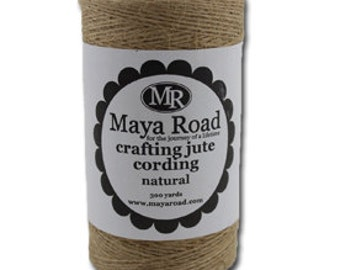 Natural Jute Twine by Maya Road