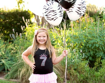 Birthday Dress, Birthday Tutu Dress, Birthday Princess, Birthday Number, Girls Party Dress