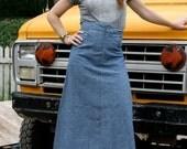 Reserved for Yoko. High waisted light denim festival Skirt, size M