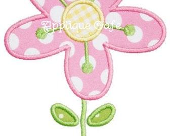 398 Flower 3 Machine Embroidery Applique Design