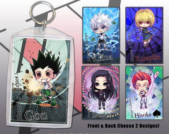 Hunter x Hunter Keychain Double-Sided