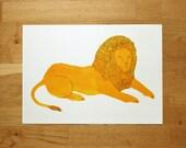 Lion - A3 print