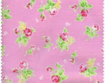 Flower Sugar 2013 by Lecien  Roses on Pink 30749-20 Cotton Fabric