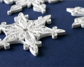 SALE - 20% OFF - Paper Quilled Snowflake Ornament/Decoration/Embellishment - Cari