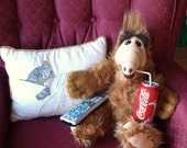 Super Duper Sale..Talking Alf of Melmac Doll is in the House..Tagged-1986..Plush Stuffed Animal..Gift Idea