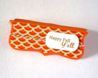 Happy Fall Yall Treat toppers party favors