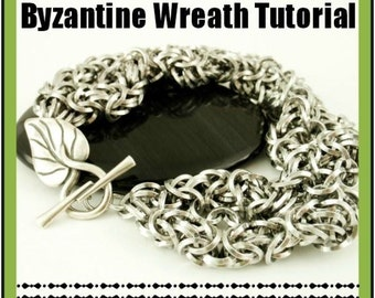 Byzantine Wreath Bracelet - Downloadable PDF Tutorial