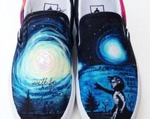 Custom Vans- Galaxy Supernova