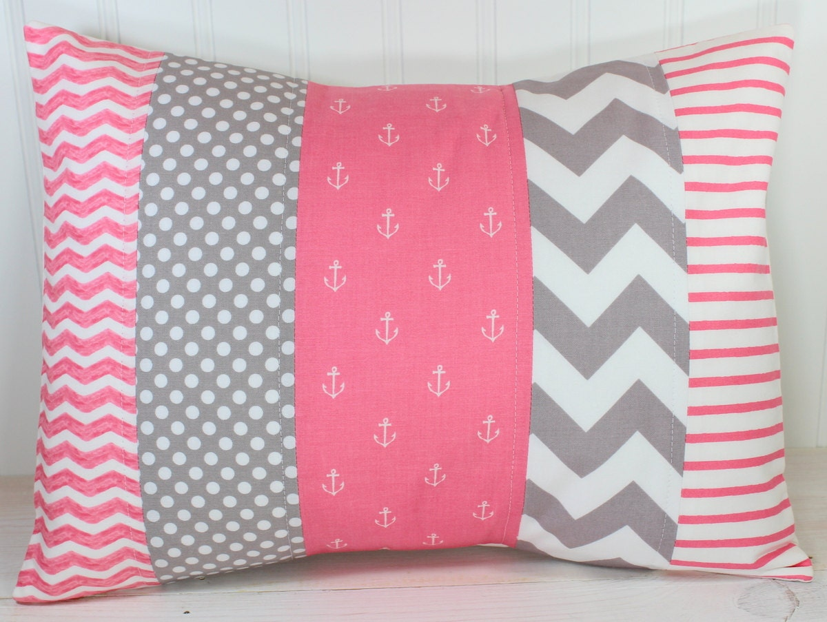 Nursery Pillow Cover Throw Pillow Cover Anchor Nursery