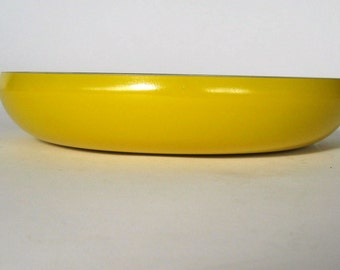 Mid Century Yellow Serving Bowl.