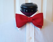 Holiday Red Bow Tie