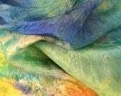 PLAYSILKS x2 RANDOM CHOICE  sensory heuristic Waldorf Montessori Steiner. Gift wrap fabric play silks dress up