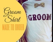 Groom Shirt Made to Order