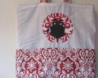 Damask Christmas Present Eco Friendly Tote - Shopping Bag