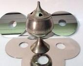 Silver Goblet Incense Burner