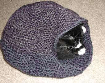 Free Crochet Pattern Cat Nest : Popular items for crochet cat bed on Etsy