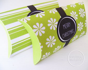 Spearmint Candy Gift Box - Printable Instant Download - Gift Tag
