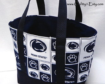 Small Tote - Penn State (Navy)  **MTO**