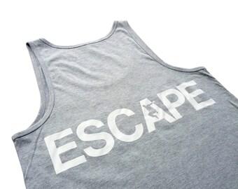 The REACH / ESCAPE Women's Singlet - Athletic Grey
