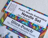Ultra - Punch Needle, Needlepunch Embroidery - Needle Set