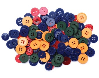 Favorite Findings Flatback Buttons 424----Country Darks----New in Package