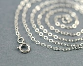 Sterling Silver Cable Chain - Simple Sterling or Goldfilled Chain