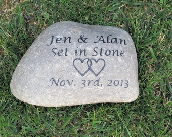 Oathing Stone Oath Wedding Stone Wedding Gift Stone 11-12 Inch