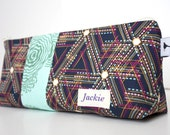 Personalized Cosmetic Makeup Bag - Indie - Made to Order