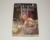 Vintage Better Homes and Gardens Magazine July 1938 - Scrapbooking - Paper Ephemera - Vintage Ads