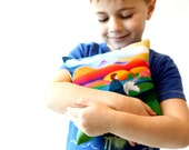 Horizon of Hopes & Dreams Unicorn Pillow Chakra Energy Healing Vivid Color Healing Spiritual-Boy
