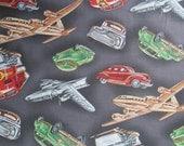 Michael Miller Retro Fabric Way to Go, Retro Transportation Fabric, yards