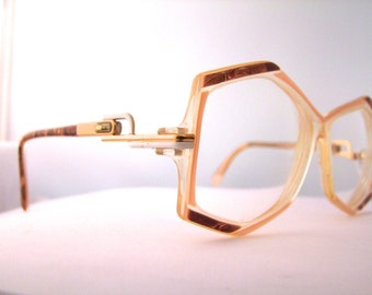 Designer Eyeglass Frames From Germany : Popular items for cazal eyeglasses on Etsy