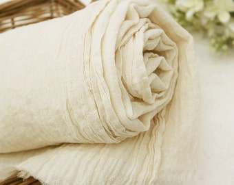 a Yard of Washing Gauze Oatmeal Cotton WIDE 130cm, U7107