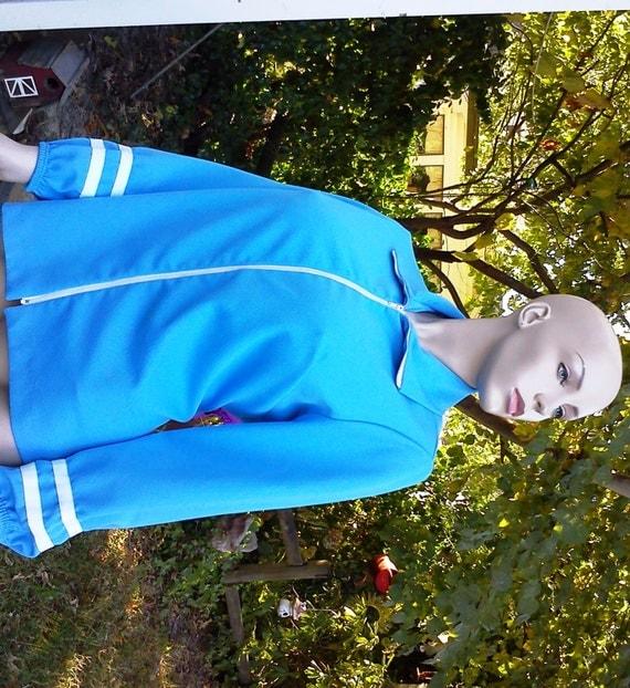 Womens Sky Blue Knit Jacket