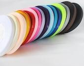 CRAZY DEAL - 17 colours 3/8 inch Grosgrain Ribbon 34 yards - 9mm - Ribbon hair bow