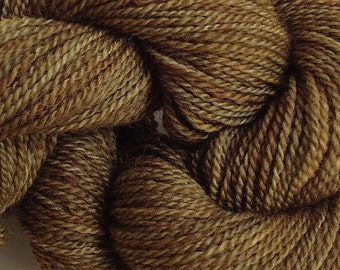 Merino Wool Yarn Lace Weight in Olive Works Hand Painted