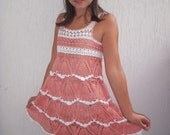 Girl's crochet dress/tunic