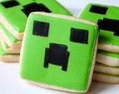 Creeper- one dozen cookie favors