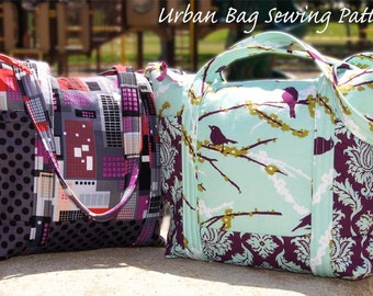 Urban Diaper Tote Bag Purse SEWING PATTERN