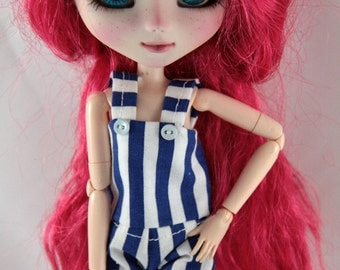 Silviacat - Salopette - overalls and cap fit Pullip and Blythe