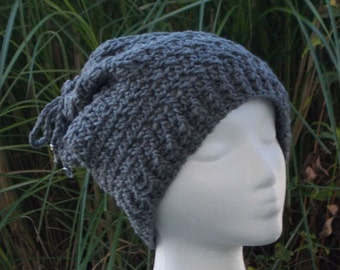 Adaptable Hat Cowl Scarf Crochet FREE SHIPPING