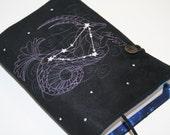 Capricorn  Embroidered Book Cover