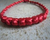 Red Thread Bracelet Luck and Prosperity.