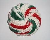 "Spiral Scrubby - Mistletoe 4"""